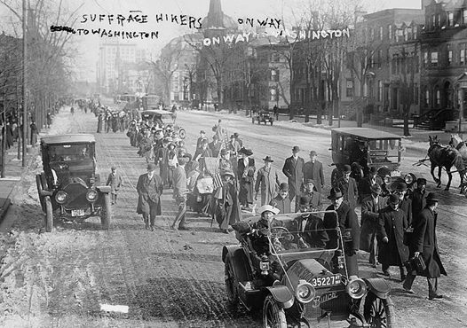 Suffrage Hikes